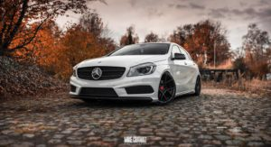 Mercedes-Benz W176 A 200 CDI AMG-Line Tuning News Tuner Berichte