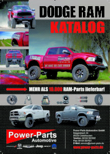 Neu: Dodge RAM-Katalog von Power-Parts!