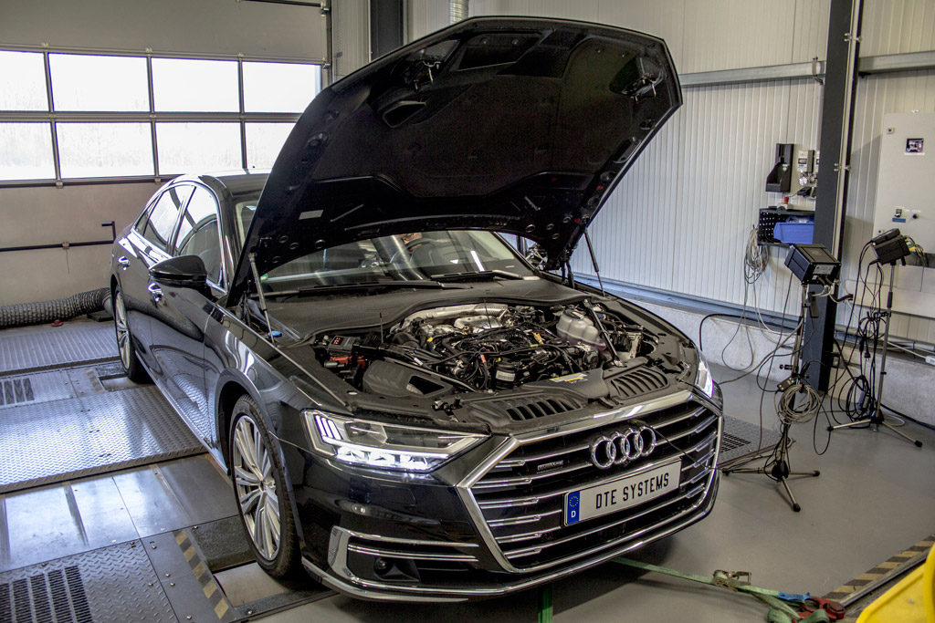 Audi A8 DTE Systems