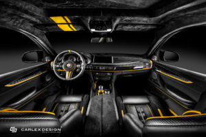 BMW F86 X6 M von Carlex Design / Manhart Performance