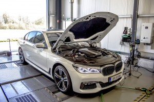BMW 750d DTE Systems