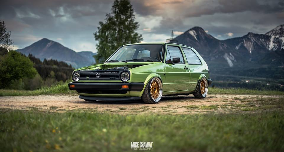 VW Golf II Tuning News