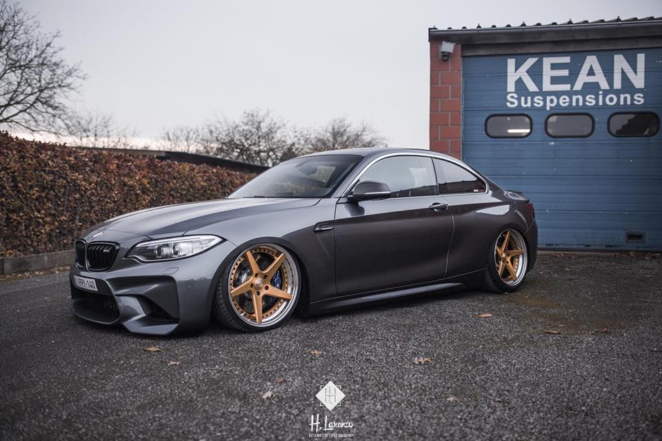 BMW M2, Kean Suspensions, Airride, Luftfahrwerk Tuning News