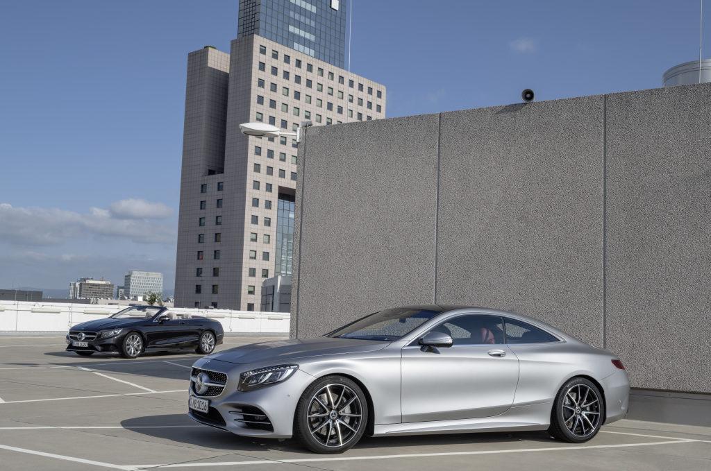 Mercedes S63 / S65 Cabrio und Coupé IAA