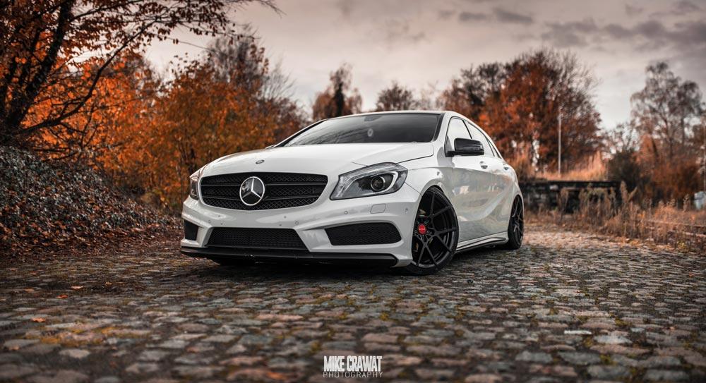 Mercedes-Benz W176 A 200 CDI AMG-Line Tuning News Tuner Berichte