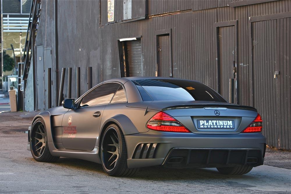 Mercedes-Benz SL63 AMG von Platinum Motorsport