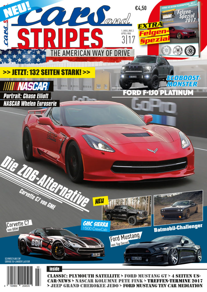 Cars & Stripes Magazin 3-17