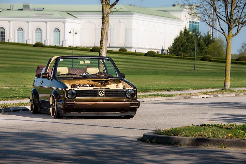 VW Golf I Cabrio Cappuccino