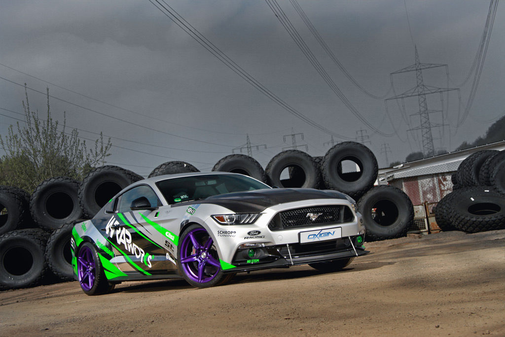 Ford Mustang Wrapworks