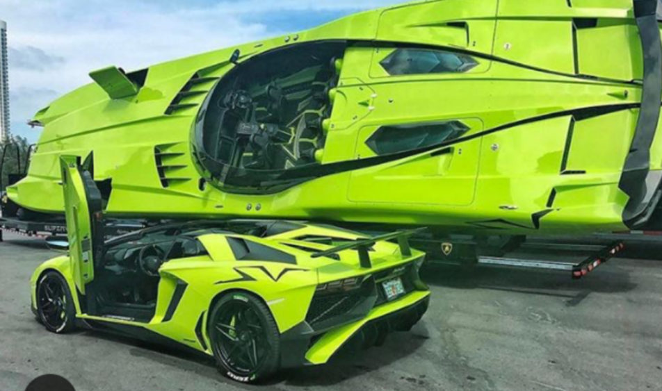 Lamborghini Aventador Boot
