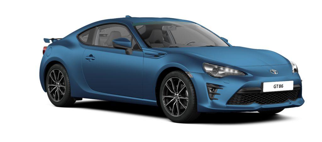 Toyota Matt Folierung