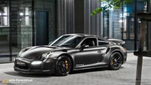 Porsche 991 Turbo S auto dynamics