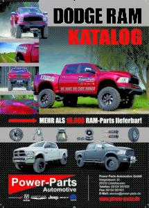 Neu: Dodge RAM-Katalog von Power-Parts!