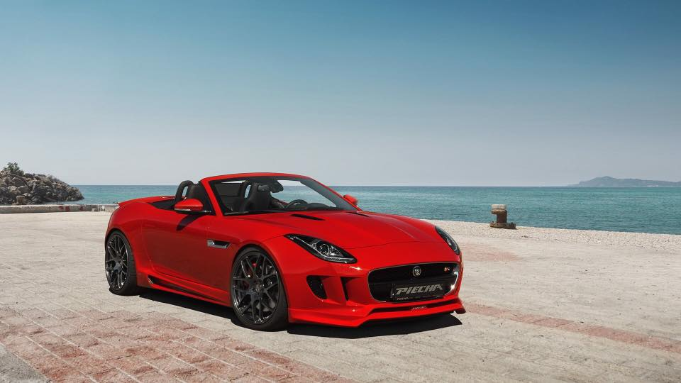 Jaguar F-Type RSR Piecha