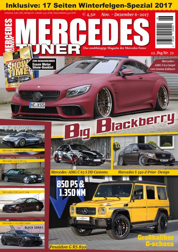 neues Mercedes Tuner Heft 6-2017