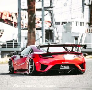 LB Works NSX in Motion!