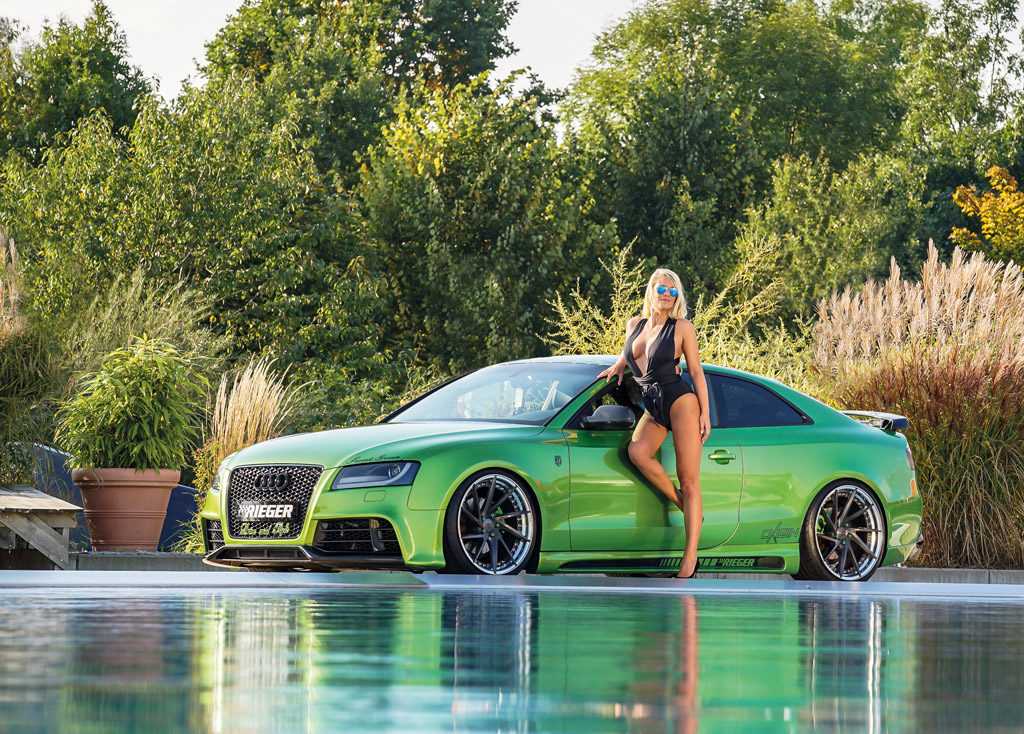 Audi A5 Rieger Tuning