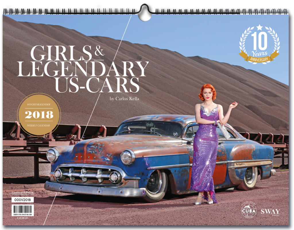 Girls & legendary US-Cars 2018!