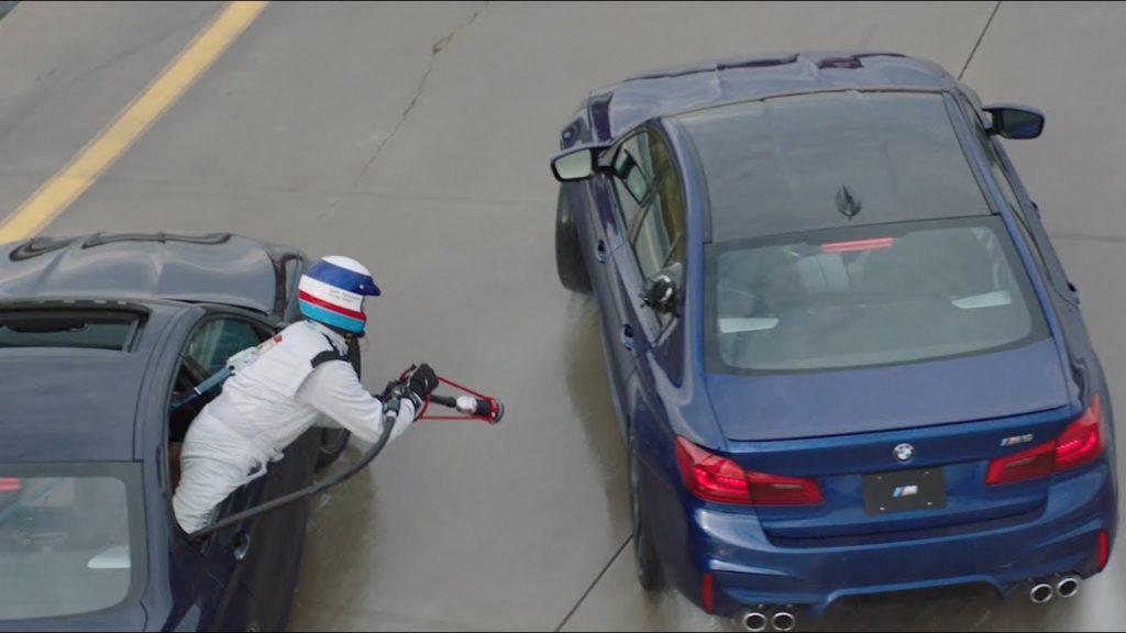 BMW USA Drift Weltrekord BMW M5