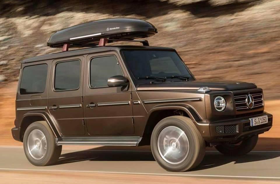 neue Mercedes G-Klasse