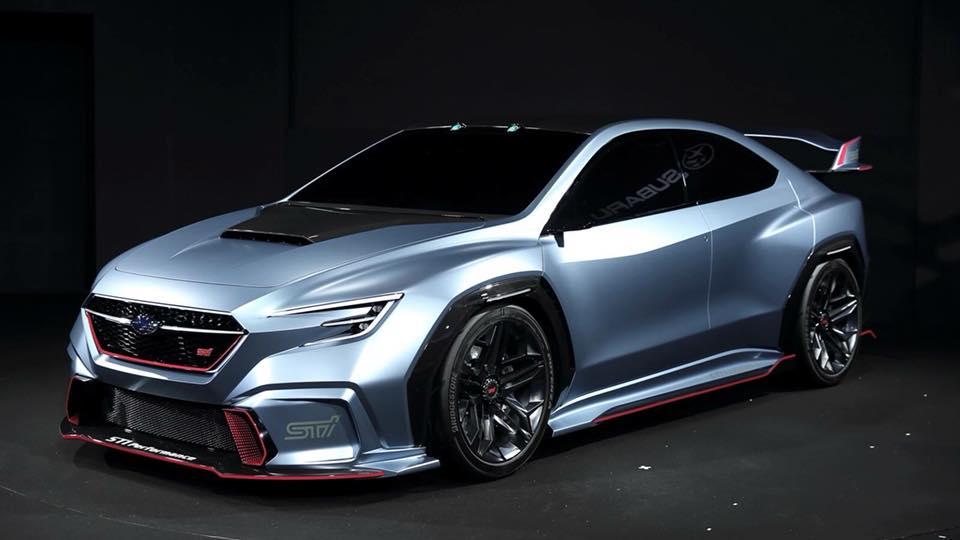 Subaru VIZIV Performance Concept STI
