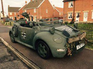 Military-New Beetle von der Insel!