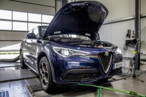 Alfa Romeo Stelvio DTE Systems