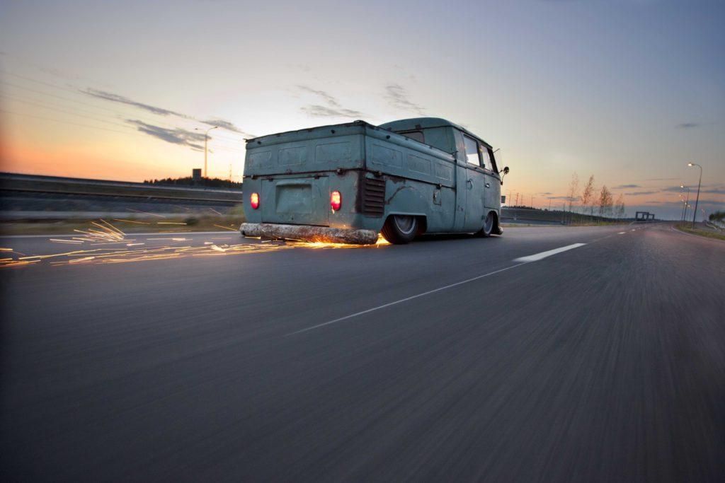 VW Doka T1 Bus