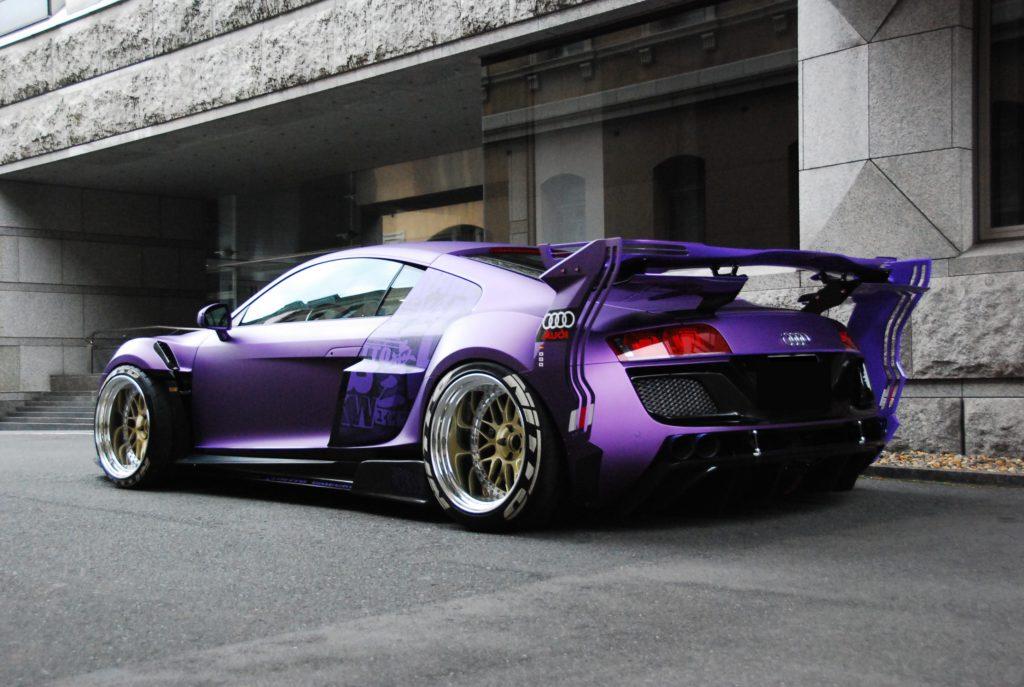 Audi R8 Widebody Garage Ill Japan