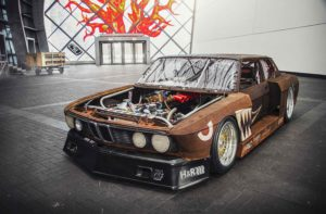 BMW E28 Rusty Slammington
