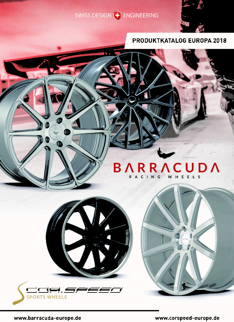 Barracuda Cor.Speed Katalog 2018