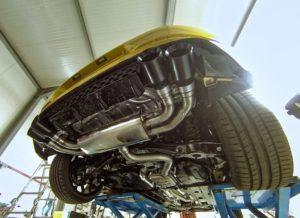 NAP Klappenauspuff Golf GTI und R
