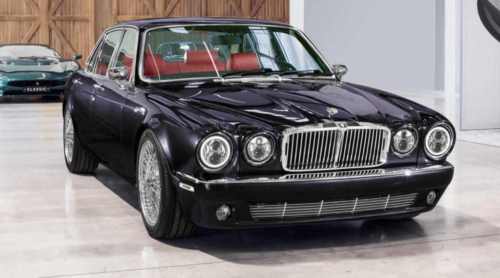 Jaguar XJ6 Classic Iron Maden Nicko McBrain