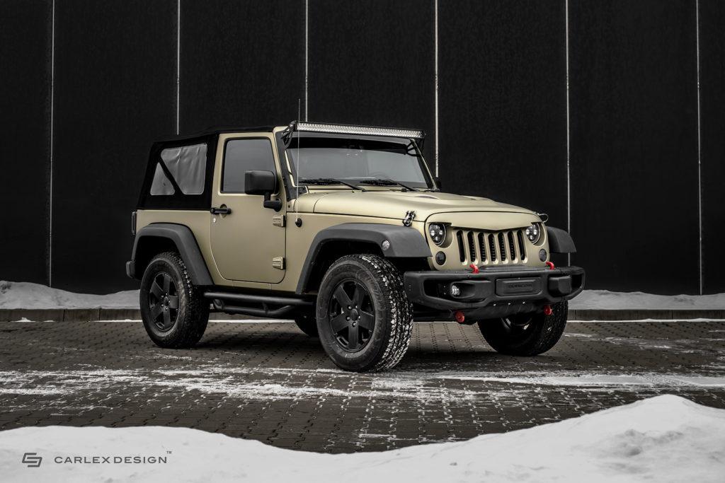 Jeep Wrangler Carlex Design