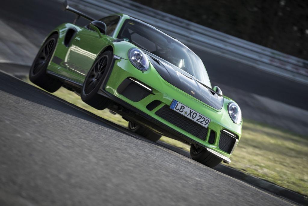 Porsche 911 GT3 RS Nürburgring-Rekord