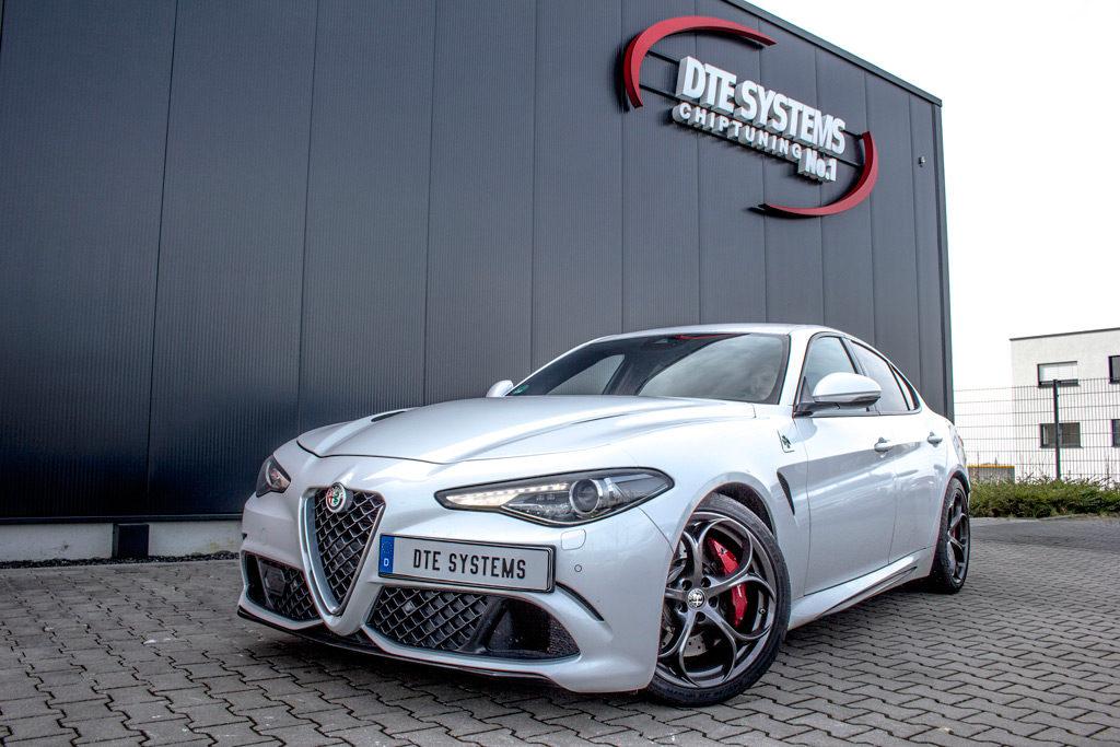 Alfa Romeo Giulia DTE Systems