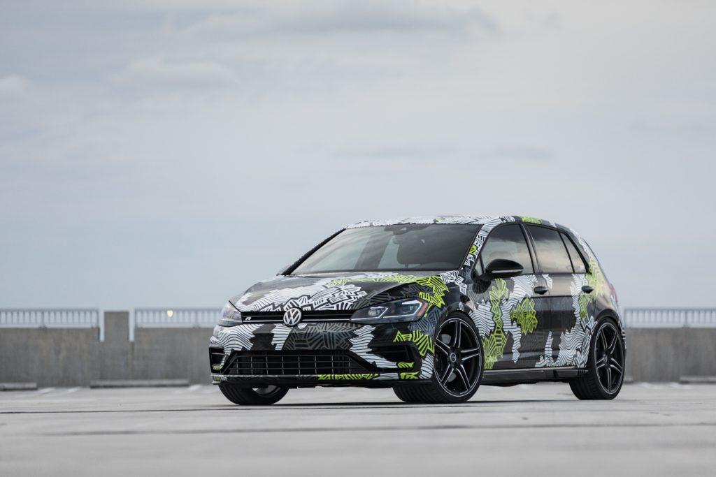 Abt Golf R Abstract Concept 2018 für Volkswagen of America Frontansicht