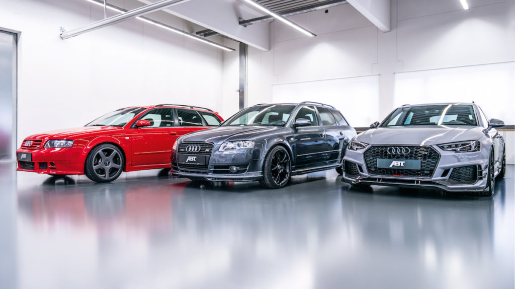 Abt Sportkombis AS400 AS4R RS4-R Avant Biturbo-V6
