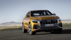 Audi Q8 2018 SUV-Coupé quattro Frontansicht
