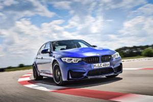 BMW M3 CS auf der Rennstrecke Frontansicht