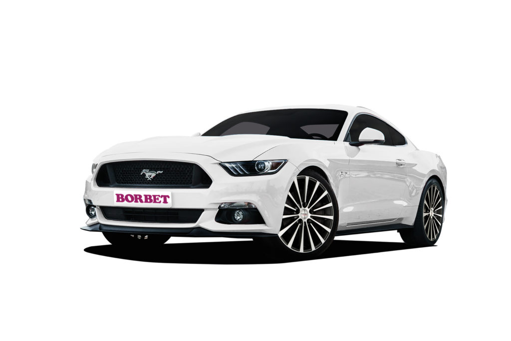 Ford Mustang Borbet