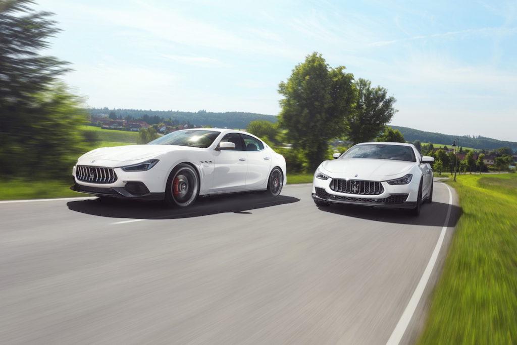 Novitec Tuning Maserati Ghibli GranLusso GranSport