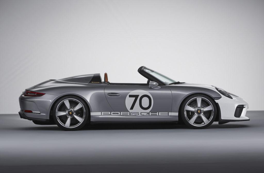 70 Jahre Porsche Sportwagen 991 Speedster Concept 2018