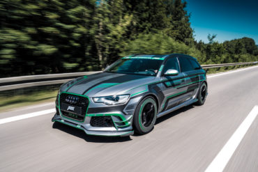Abt Prototyp Audi RS6-E Tuning Hybrid