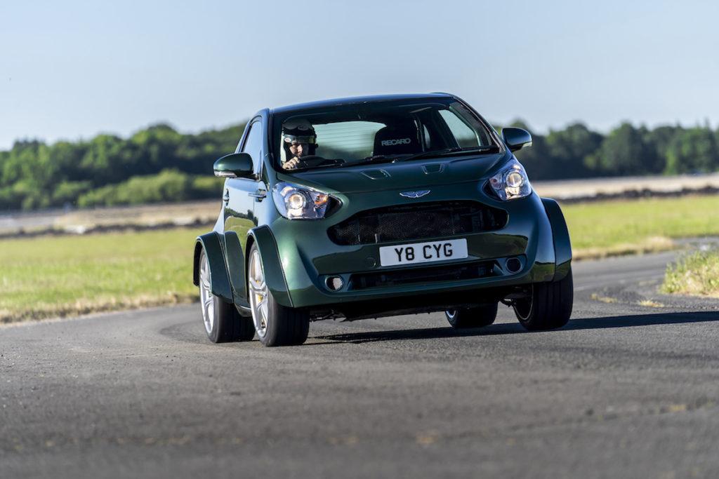 Goodwood Festival of Speed Aston Martin V8 Cygnet