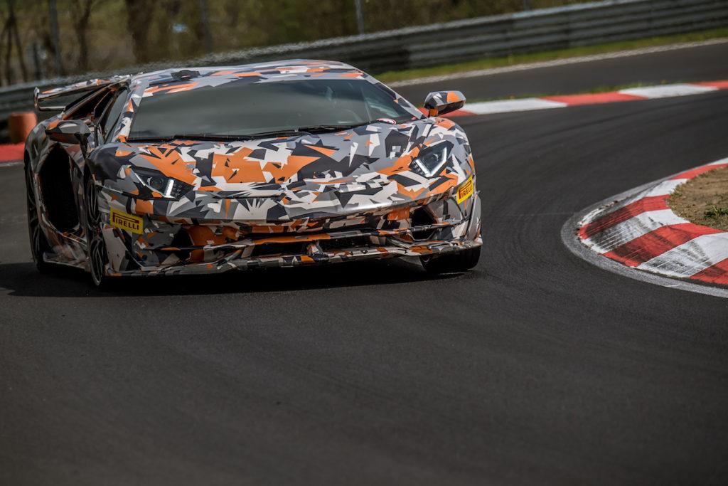 Nürburgring-Nordschleife Rundenrekord Lamborghini Aventador SVJ