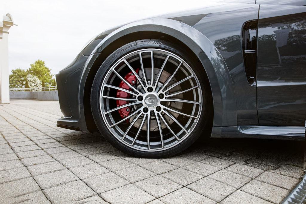 Porsche Panamera Techart Formula V Felge Neuheit