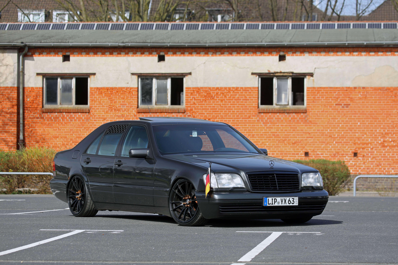Mercedes-Benz W140 Limo elektrischer Fensterheber Hinten rechts