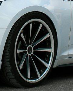 Cor.Speed-Räder am Audi A5 B9 Sportback