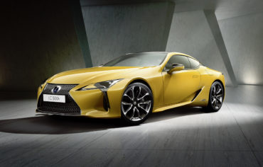 Autosalon Paris 2018 Premiere Limited Edition Lexus LC Yellow Edition Coupé Sportwagen
